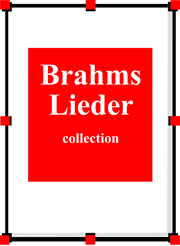 Brahms Lieder collection